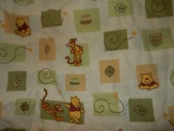 9j Disney Winnie The Pooh Tigger Fitted Crib Toddler Bed Sheet {fabric}