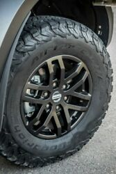 4x Used Genuine Ford Ranger Raptor Black 17 Wheels And Bf Goodrich At Tyres