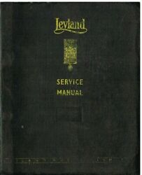 Leyland Octopus Retriever And Low Weight Badger Orig 1964 Factory Service Manual