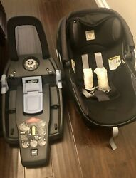 Peg Perego Infant Car Seat Adjustable Headrest Baby Safety Booster Chair Black