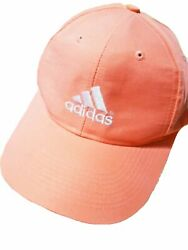 Hat Cap Adidas Collectible Orange White Logo One Size Fits All Gifts Womens Mens