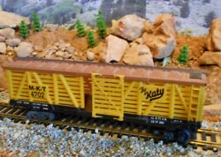 Ho Scale Life Like The Katy Stock Car, Model Railroad Train, Old Collectible