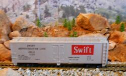 Ho Scale Tyco Swift Box Car, Model Railroad Train Car, Vintage Old Collectible