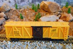 Ho Scale Tyco The Katy Stock Car, Model Railroad Train Car, Old Collectible