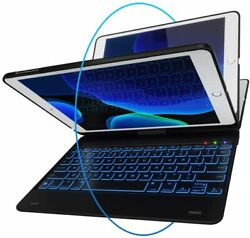 For Ipad 6th Gen Keyboard Case Thin And Light - 360 Rotatable - Wireless/bt