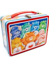 Care Bears Metal Lunch Box Vimtage Style Nwt