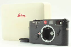 [mint In Box] Leica M6 0.85 Black Non Ttl 35mm Rangefinder Camera From Japan