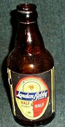 Cool Vintage London Bobby Ale Beer Steinie Bottle Miami Valley Brewery Ohio