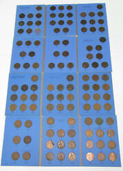 Complete 114 Coin 1860-1966 Great Britian Penny Collection Set Uk All But 1865/3