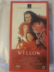 New Sealed Willow 1988 Vhs Lucasfilm Classic Ron Howard Val Kilmer