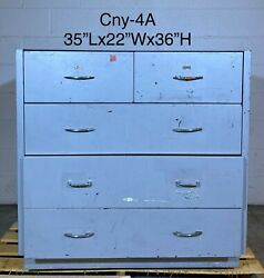 3andrsquo Lab Casework Drawer Cabinet 3 Long Drawers 2 Small Drawers 35andrdquox22andrdquox36andrdquo