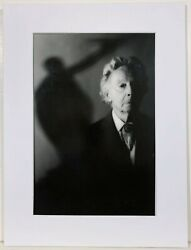 Robert Farber Silver Gelatin Photograph Erte 90th Birthday Signed And Stamped