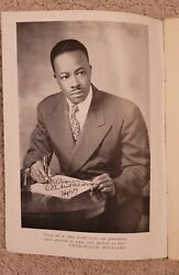 1946 Scarce Chancellor Williams Signed African American Author I Were White