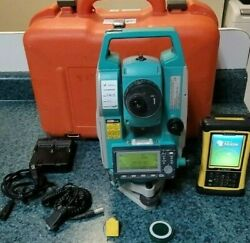 Sokkia Set530r 5and039 Reflectorless Total Station Red-tech Ii W/ Nomad Tds Data C.
