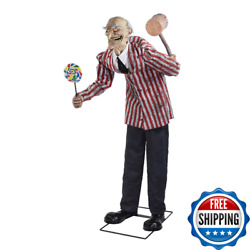 Halloween Decorations Party Decor Outdoor Yard Candy Creep Animated Prop Scary