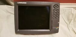 Lowrance Lcx-113c Hd With Transducer Plus Power Network And Eathernet Cable
