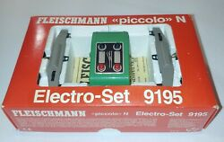Fleischmann Piccolo N Electro-set 9195 - 2 Drives And Dashboard Used