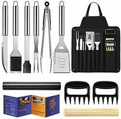 Bbq Grill Accessories Grill Utensils Set 16 Inches Stainless Steel Bbq Tools