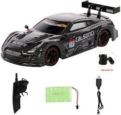 Remote Control Gtr Racing High Speed Drift Car 2.4g 4wd Championship Vehicle Toy