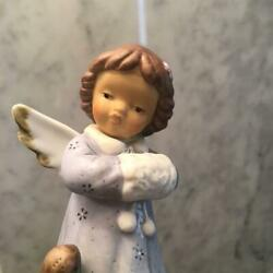 Germany 90 Vintage Goebel's Gna Cute Angel And Rabbit With Beautiful Hand-drawn