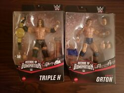 Mattel Wwe Elite Collection Randy Orton And Hhh Figures