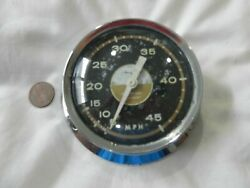 Vintage Boat Speedometer For Parts