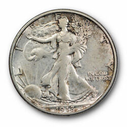 1918 S 50c Walking Liberty Half Dollar About Uncirculated To Mint State 2972