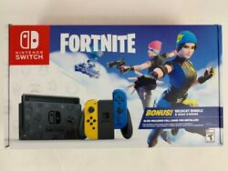 Nintendo Switch Fortnite Special Edition Handheld Video Game Console Ap2030169