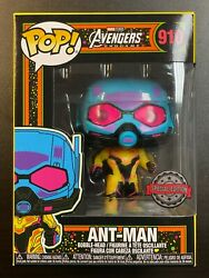 Funko Pop Marvel Ant Man Black Light 910 Special Edition Exclusive