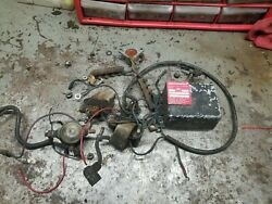 Cushman Trackster Electrical Ignition Box Coil Parts Lot Omc Engine Motor