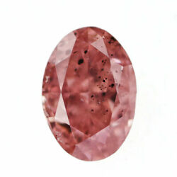 Rare Natural Fancy Pink Diamond Loose 0.237ct Fop Si2 - Auth Selby_japan