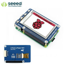2.7inch E-ink Display Hat For Raspberry Pi Three-color E-paper 264x176 Seed
