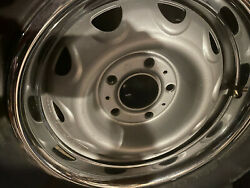 A Complete Set - Brand New Rally Wheels With Trim Rings And Tires