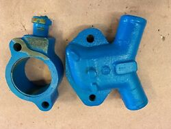 Crusader Thermostat Housing 97851 97452 For Fwc V8 Gm Engines. Used / Good Con