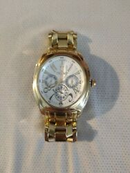 Very Rare Donald J. Trump - 2005 Collection Tr/1088 Gold/silver Mens Watch.