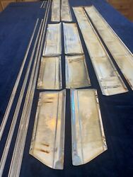 1972 Chevrolet Caprice 2dr Side Moldings Complete Set Lh And Rh Impala Ss Donk