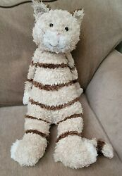 Large Jellycat Bunglie Striped Cat 21 Tall Not Including Tail
