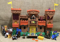 Lot Of Imaginext Fisher Price Imaginext Castle Medieval Knights Eagles Talon