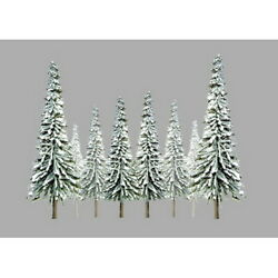 Jtt Scenery Products 92006 N 2-4 Snow Pine Super Scenic Tree Pack Of 36