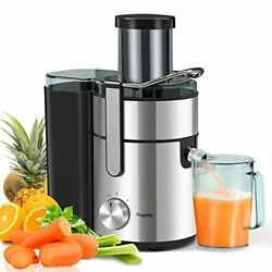 Bagotte Large Juicer Machines1000w 85mm Wide Mouth Centrifugal Juicers Easy Cl