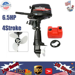 6.5hp 4stroke Outboard Motor Boat Engine Water-cooling Tiller Control 123cc Usa