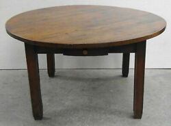 Antique French Country Round Table