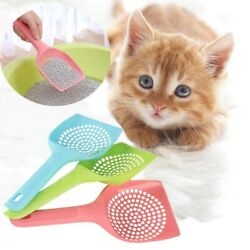 Cat Litter Scooper Sand Waste Shovel Hollow Cleaning Plastic Tool for Cat Box