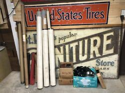 1900-1930's Autos Large Lot Fabric Trim Roof Material Open Cars Ford Chevy Dodge