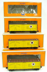 Lionel 6-11875 Northern Pacific Steel Sided Refrigerator Car 3 Pack Ln/box