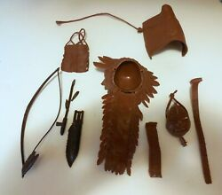Marx Johnny West Chief Cherokee Accessories