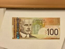 Mint 2004 - Canadian Hundred 100 Dollar Banknote Bill, Bank Of Canada