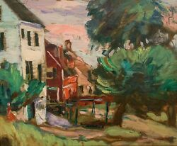 Florence White Williams 20th C. American Impressionist Landscape Painting Ma