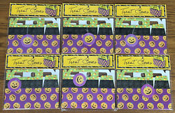 Lot Of 12 Halloween Treat Boxes Pumpkins Candy Trick Or Candy Gifts New 2-packs