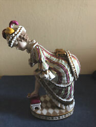 Antique Rare Imperial Russian Porcelain Figurine By Gardner, Miscow, C.1880